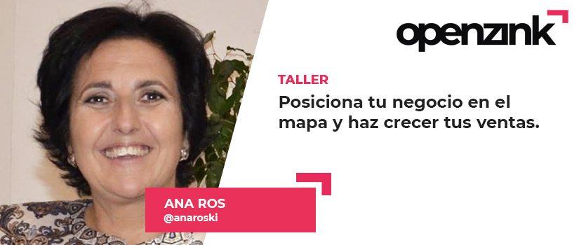 Ponente: Ana María Ros Domínguez