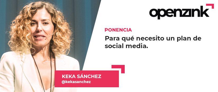 Ponente: Keka Sánchez