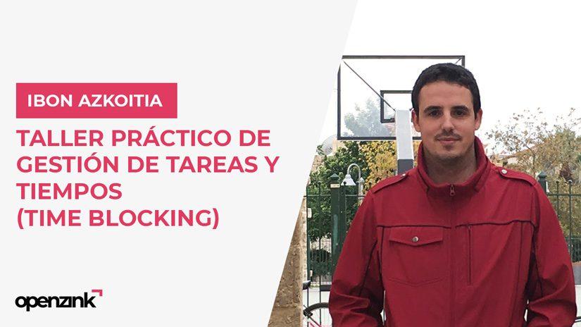 TALLER: «Taller práctico de gestión de tareas y tiempos (time blocking)»